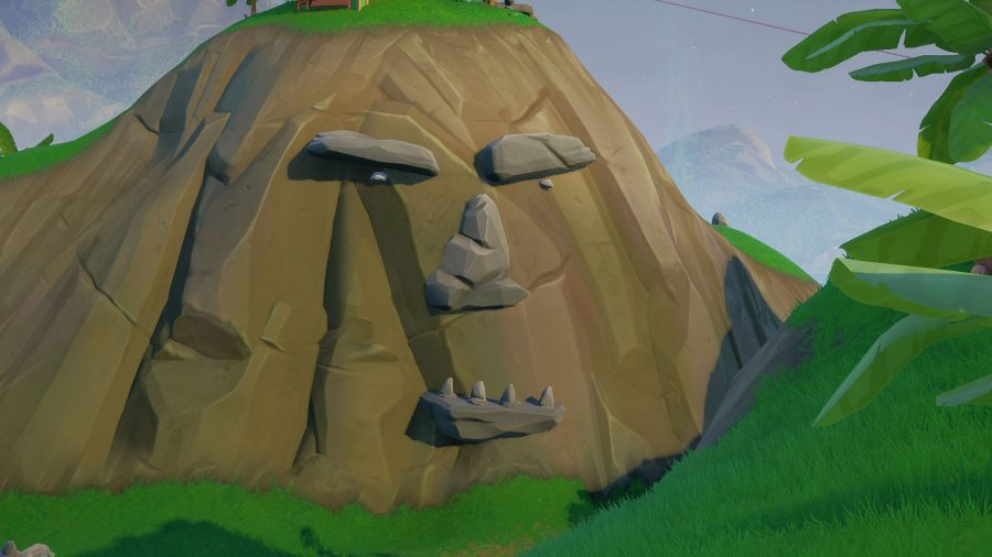 Fortnite Ormanda Bulunan Dev Yüz Nerede? Fortnite Ormanda Bulunan Dev Yüzü Ziyaret Et! 8. Sezon 1. Hafta
