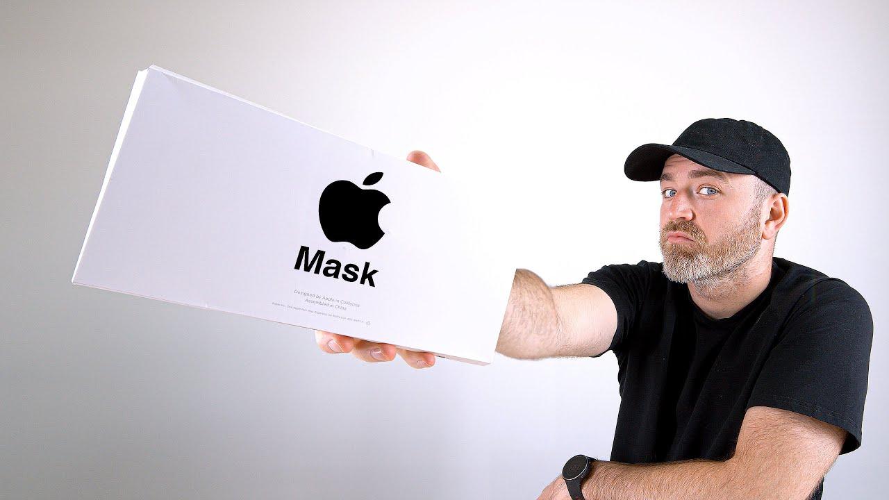 Apple tıbbi maske tasarladı!