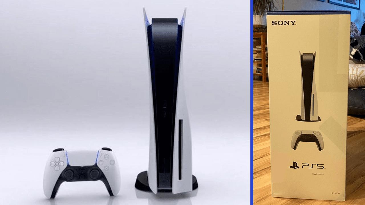 PlayStation 5 kutusu ortaya çıktı!