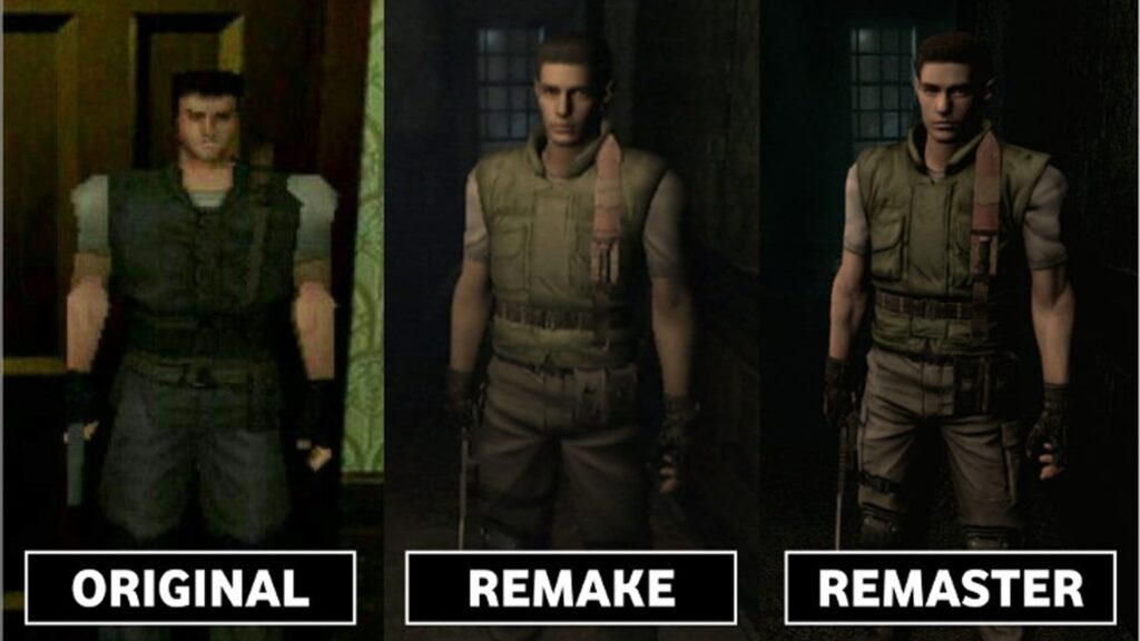 original vs remake vs remaster